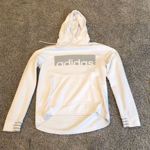Adidas mid neck hoodie